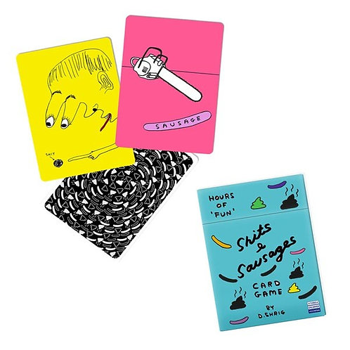 Shits & Sausages Card Game
