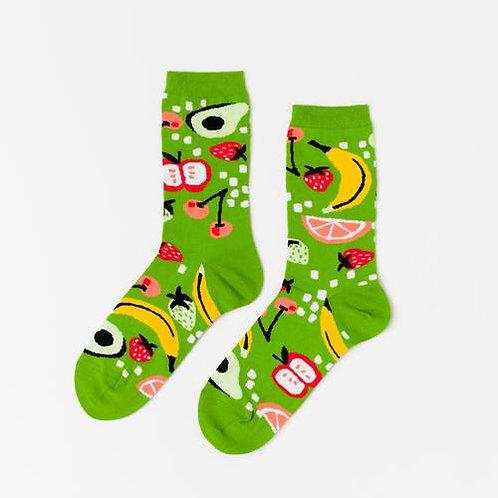 Fruits Crew Socks
