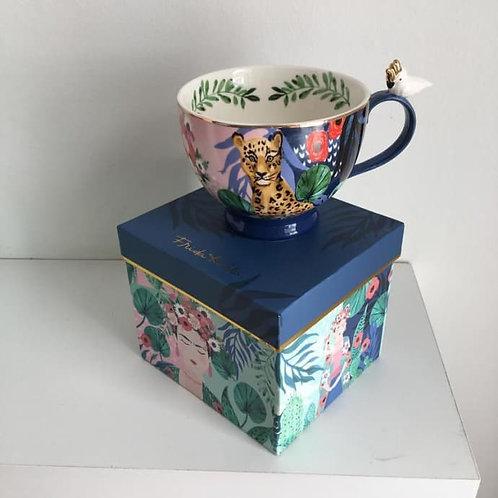 Frida Khalo Tea Cup