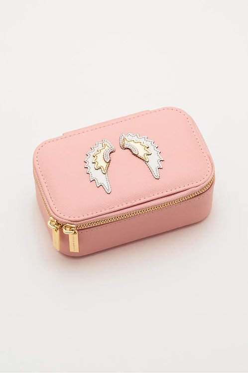 Wings Applique Mini Jewellery Box