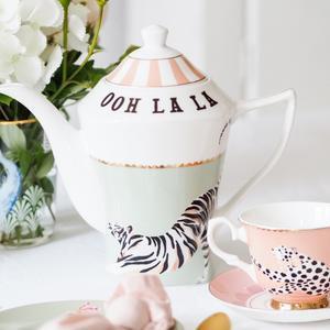 OOh La La Tiger Teapot