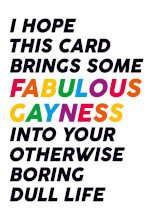 Fabulous Gayness