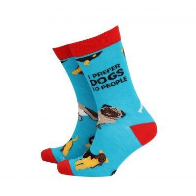 I Prefer Dogs To People Mens Socks