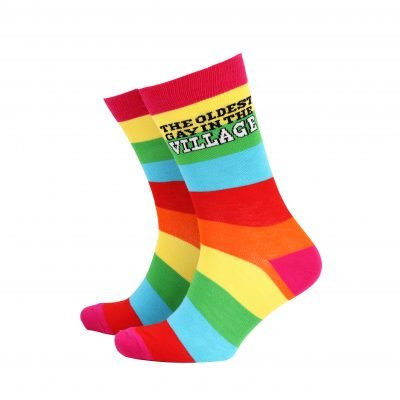 The Oldest Gay In The Village Mens Socks