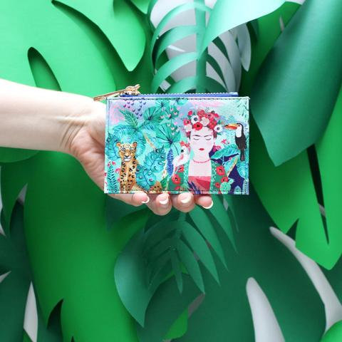 Frida Kahlo Tropical Purse