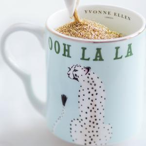 Cheetah OOh La La Small Mug
