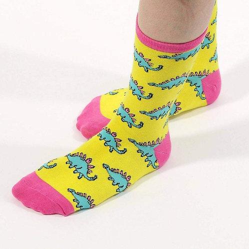Stegosaurus Socks