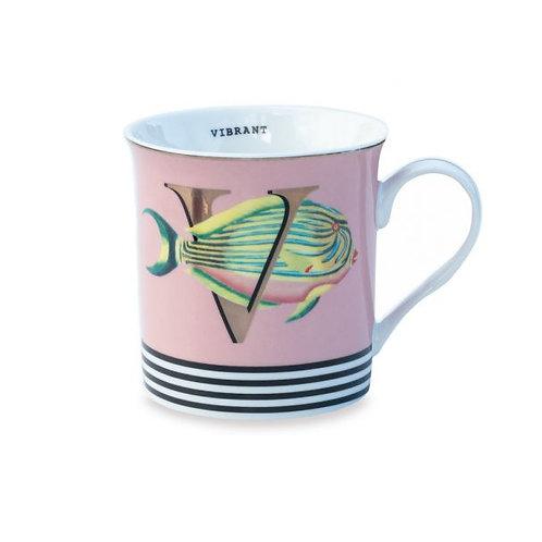 V For Vibrant Mug