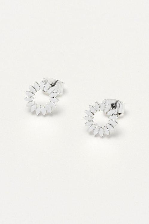 Modern Flower Earrings