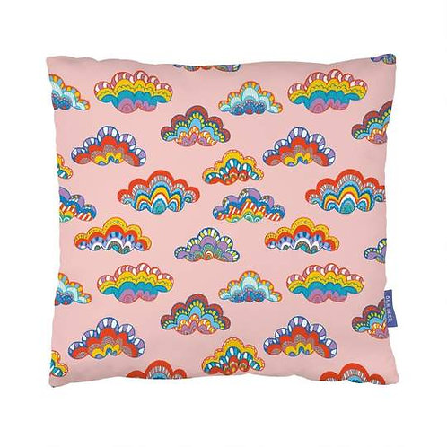 Rainbow Clouds Cushion