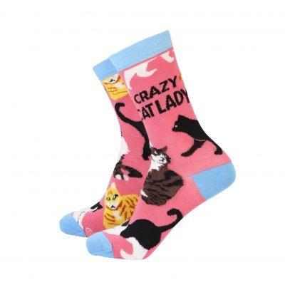Crazy Cat Lady Ladies Socks