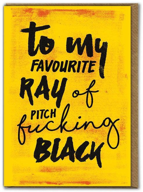 Ray Of Black