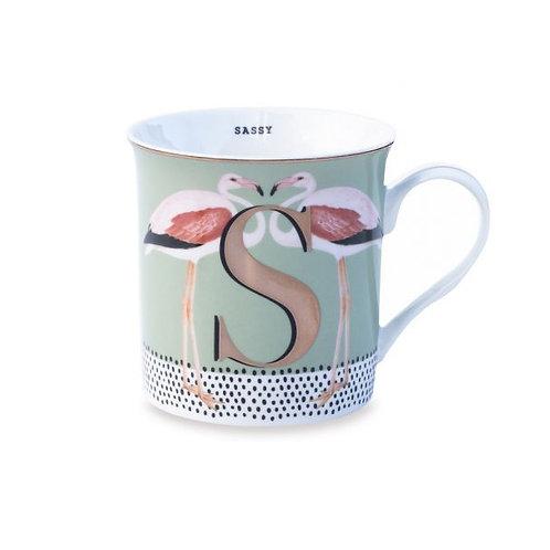 S For Sassy Mug