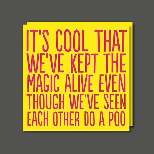 Keep the magic Alive