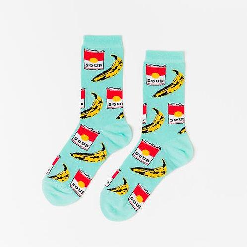 Pop Art Crew Socks