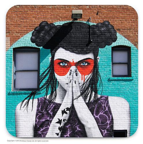 Street Art Coaster