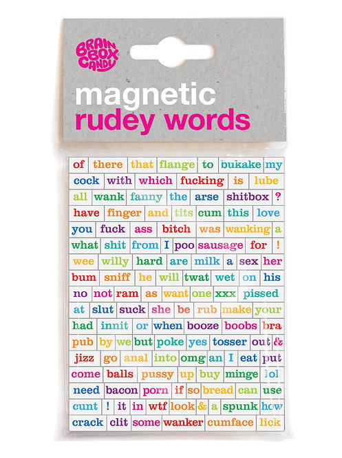 Magnetic Rudy Words