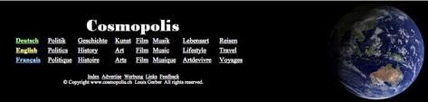 2012 Cosmopolis.ch
