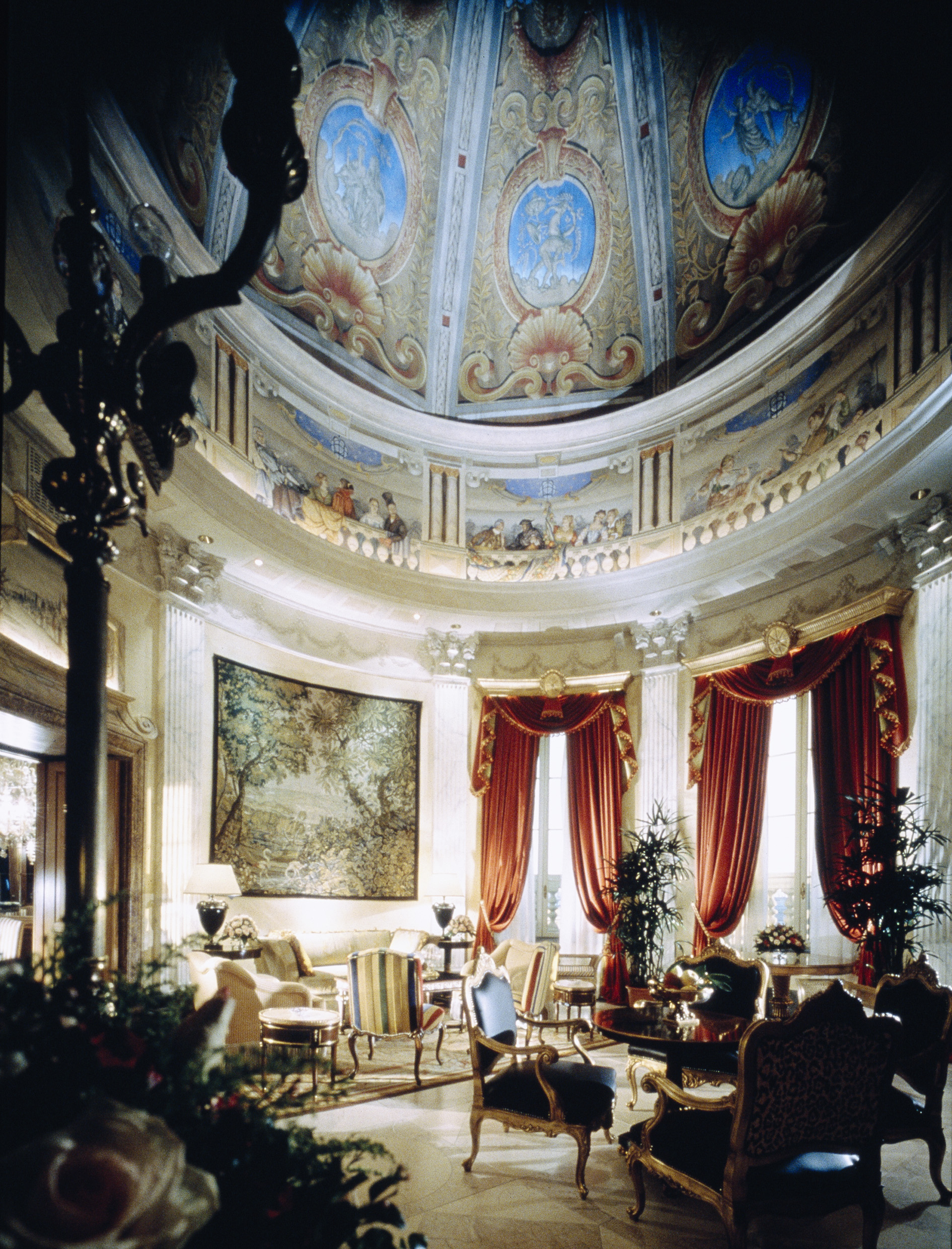 02. Villa la Cupola - living room