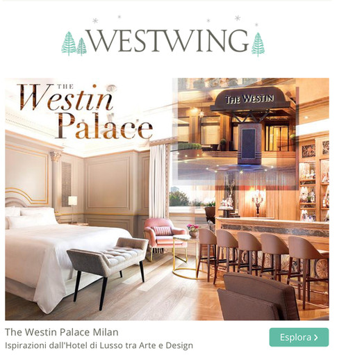 The Westin Palace on Westwing.it