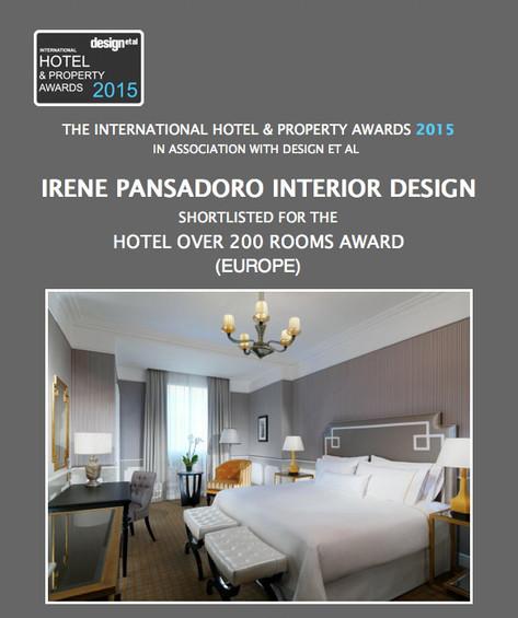 2015 International Hotel & property Awards