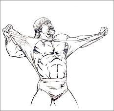 Hulk Hogan original art
