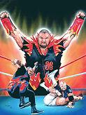 "Bam Bam Bigelo- 14.5""x 19""- WWE merchandise catalog- $600"