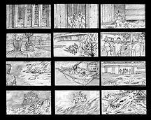 Tom Fleming-  storyboard samples