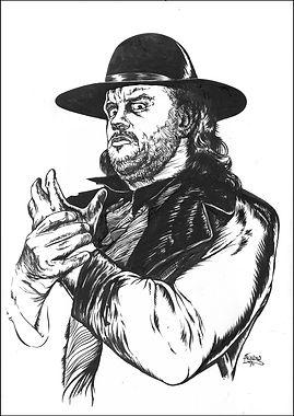 Undertaker Original art