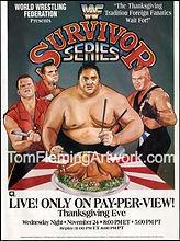 WWE survivor series 93