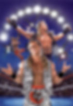 "Shawn Michaels- 16.5""x 23"" WWE merchandise catalog- $1,200"