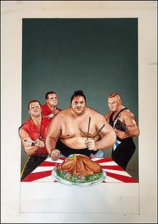 Survivor Series 93 Original painting