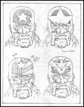 Mr. America Mask Concepts