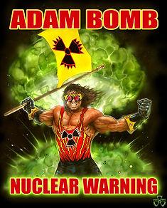 Adam Bomb Print
