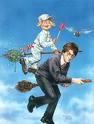 Tom Fleming-  Cracked magazine cover art