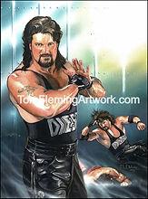 Deisel WWE Print