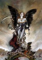 Tom Fleming- Heavy Metal Magazine cover, Draw & Paint Fantasy Females cover, Art of Heavy Metal calendar.