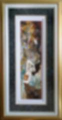 Watercolor/color pencil/acrylic/graphite