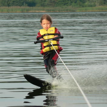 Water ski at Riga
