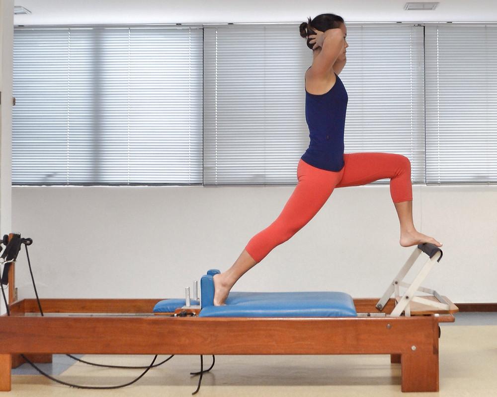 pilates front splits