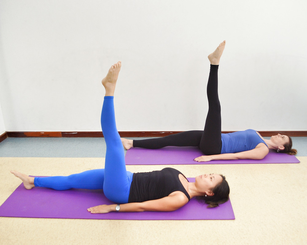 Pilates One Leg Circles