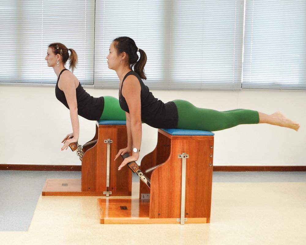 Pilates swan dive