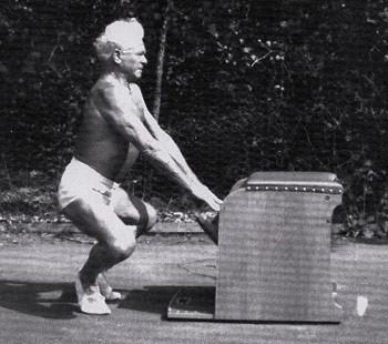 base pilates stance
