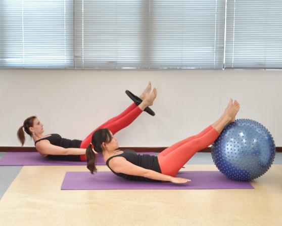 Pilates com Acessórios