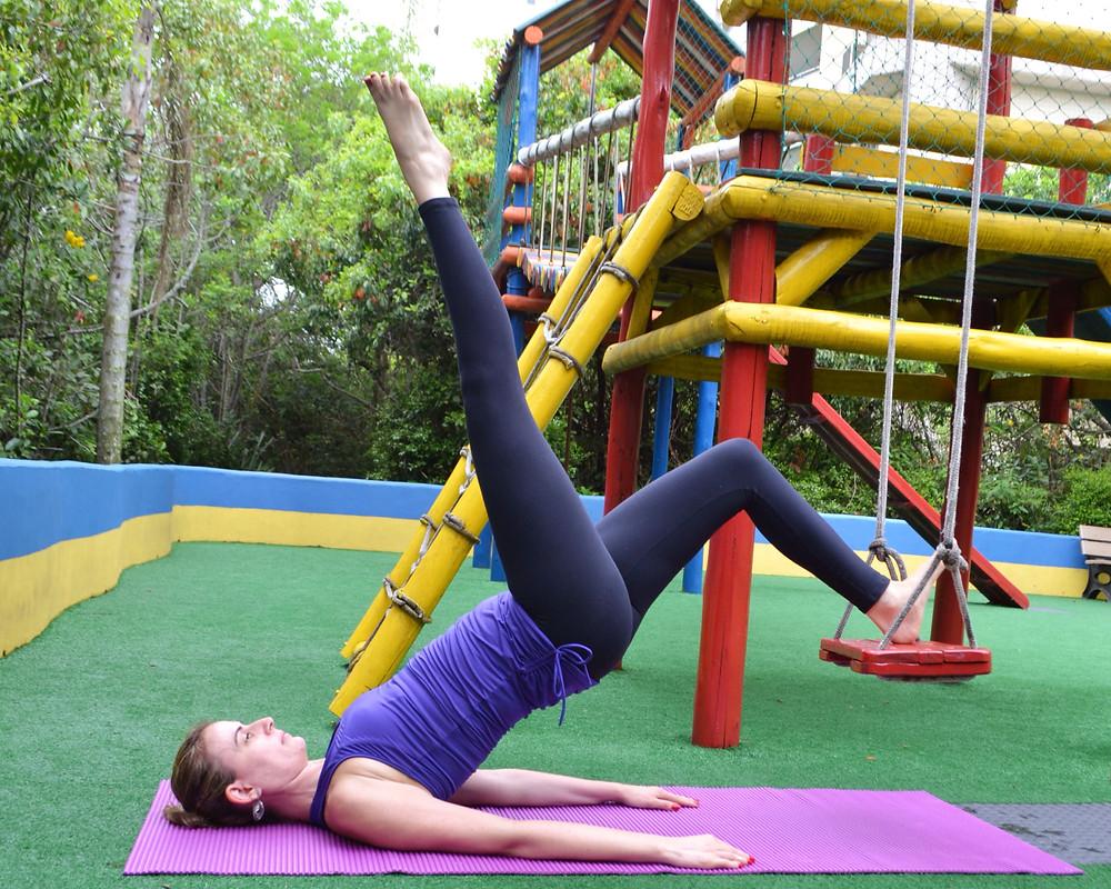 pilates ponte unilateral