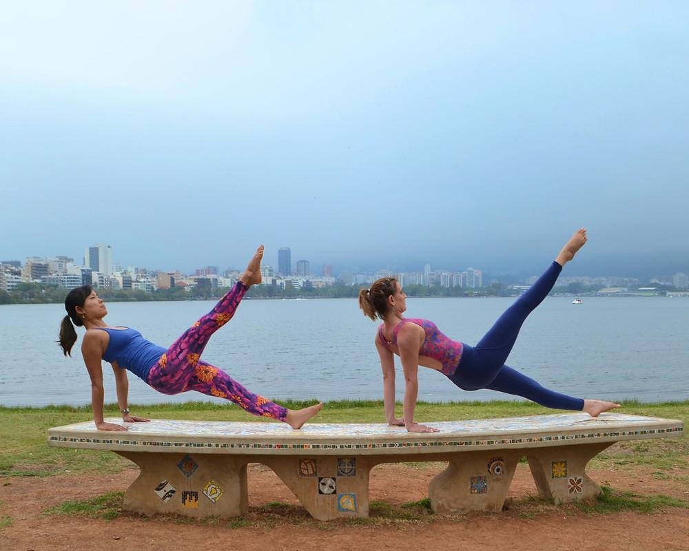 pilates leg pull