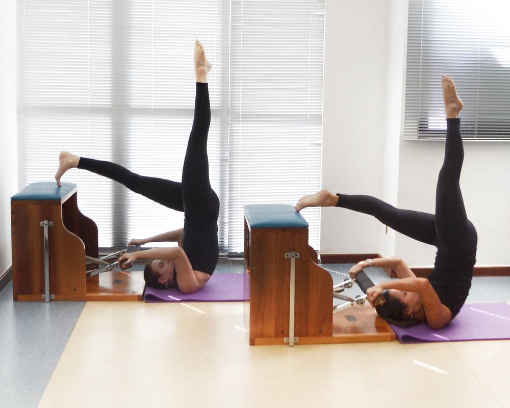 pilates posturas invertidas