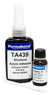 Permabond TA439 1 x 50ml resin + 1 x 20ml initiator 41