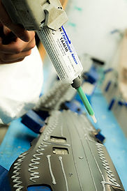 PP automotive application with TA4610 adhesive
