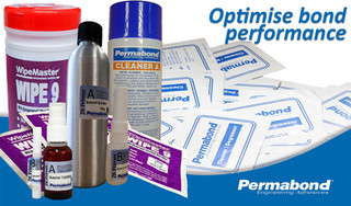 Optimise your adhesive's performance with Permabond's surface cleaning solutions